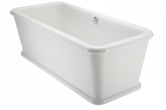 London rectangle soaking tub