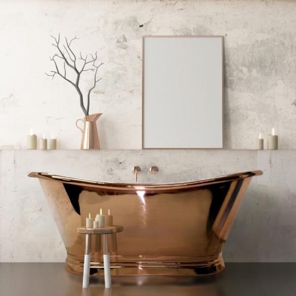 Copper Boat Bath