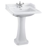 Classic 65cm basin and Classic pedestal