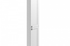 30 Double Door Tall Base Unit - Matt White