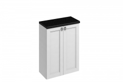 60 Double Door Base Unit - Matt White