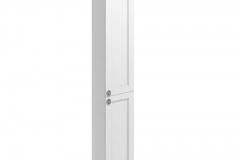 30 Double Door Tall Base Unit - Matt White