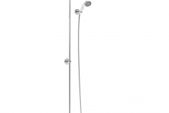 Eden Thermostatic Exposed Shower Bar Valve Single Outlet